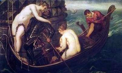 Salvation Arsinoe   Jacopo Tintoretto