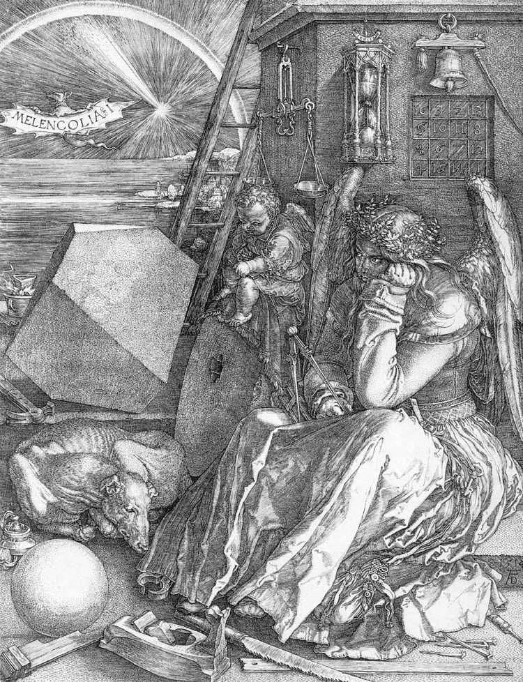 Melancholia   Albrecht Durer