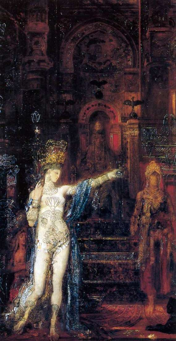 Salome Dancing before Herod   Gustave Moreau