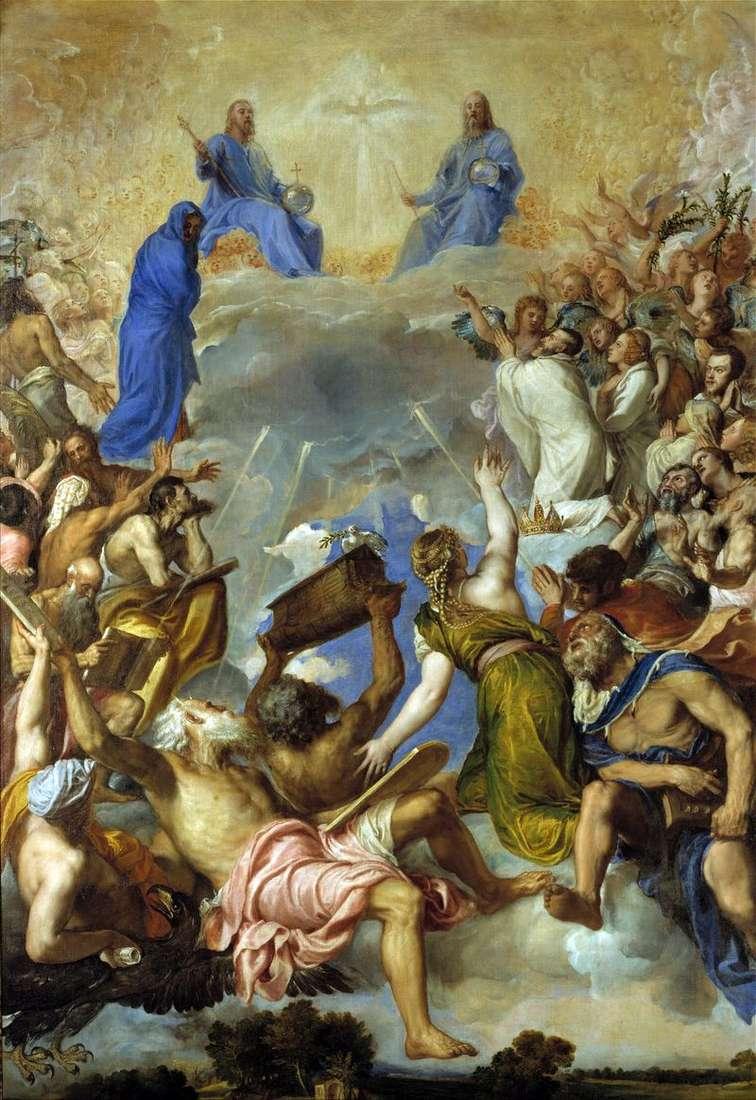 Trójca w chwale   Titian Vecellio