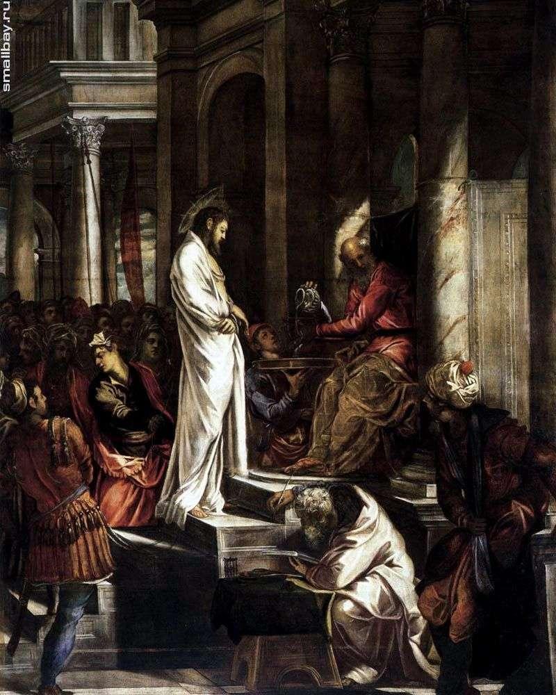 Chrystus przed Piłatem   Jacopo Tintoretto