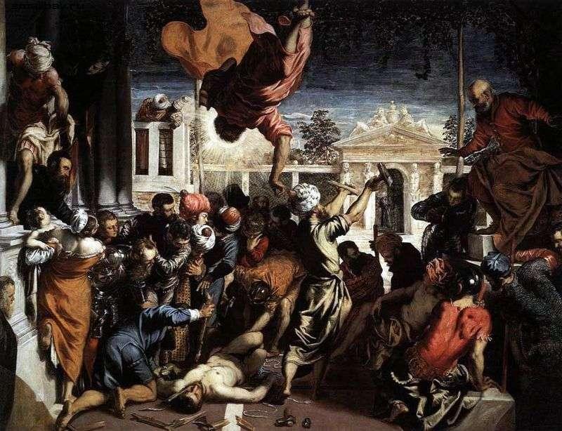 Cud Świętego Marka   Jacopo Tintoretto