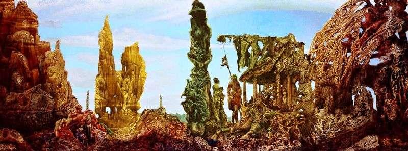 Europa po deszczu II   Max Ernst