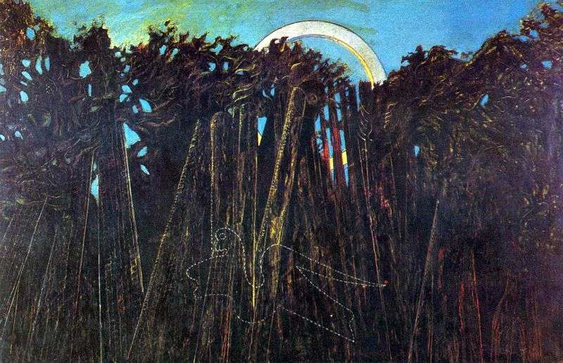 Balsamiczny las   Max Ernst
