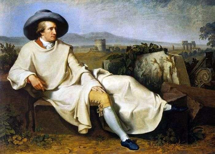 Goethe w Kampanii   Johann Tischbein