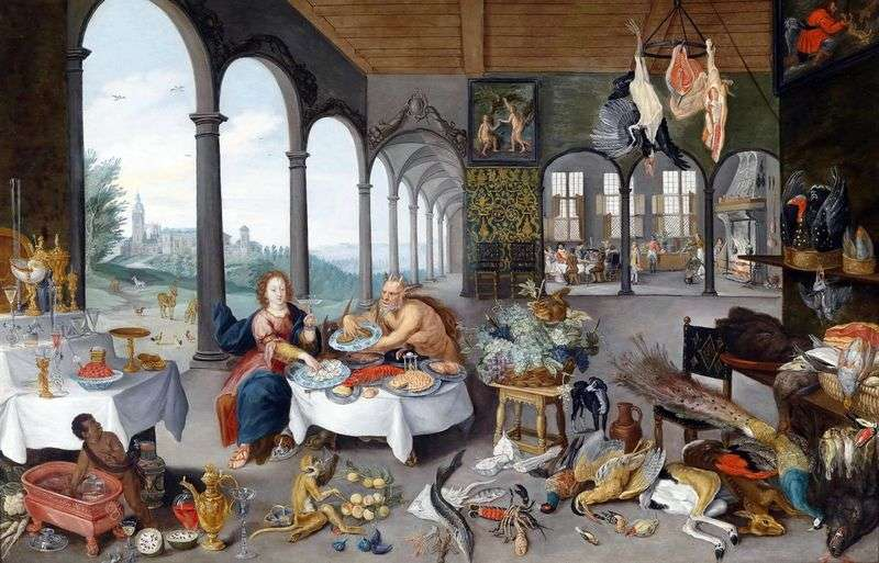 Alegoria Smaku   Peter Bruegel
