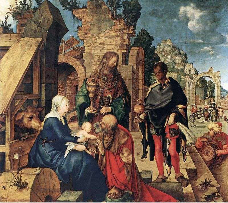 Pokłon Trzech Króli   Albrecht Dürer