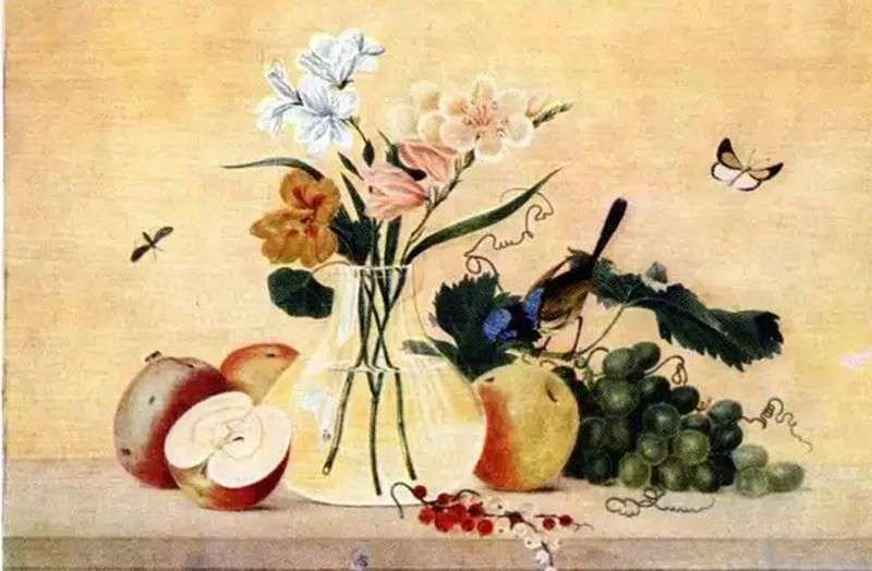 Kwiaty, owoce, ptaki   Fiodor Tołstoj