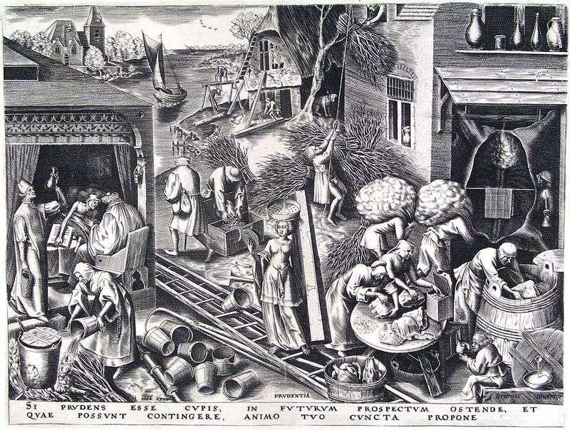 Roztropność   Peter Bruegel