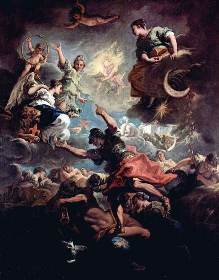 Alegoria Toskanii   Sebastiano Ricci