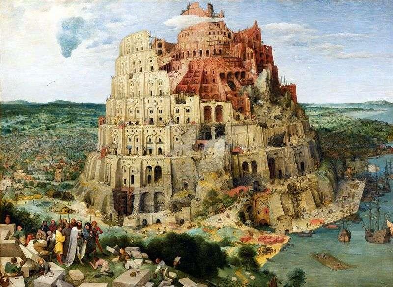 Wieża Babel   Peter Bruegel