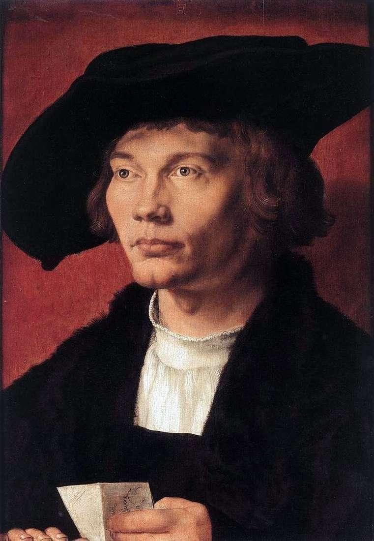 Portret Burharta von Riesen   Albrecht Durer