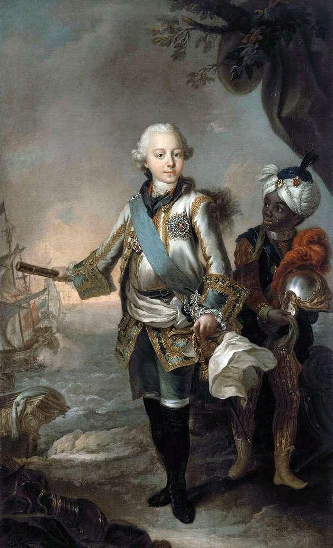 Portret wielkiego księcia Pavela Pietrowicza   Stefano Torelli