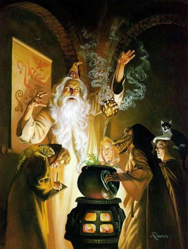 Lekcja alchemii   Rowena Morrill