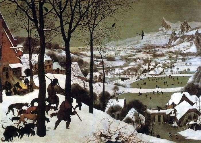 Powrót łowców   Peter the Elder Bruegel