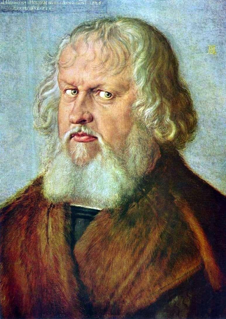 Portret Jerome Holtschuera   Albrecht Durer