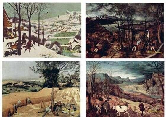 Pory roku   Peter Bruegel
