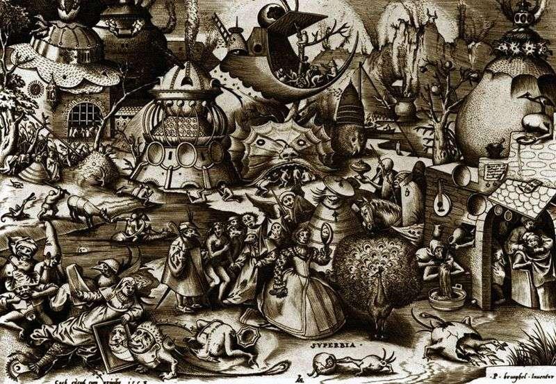 Duma Grawerowanie   Peter Bruegel