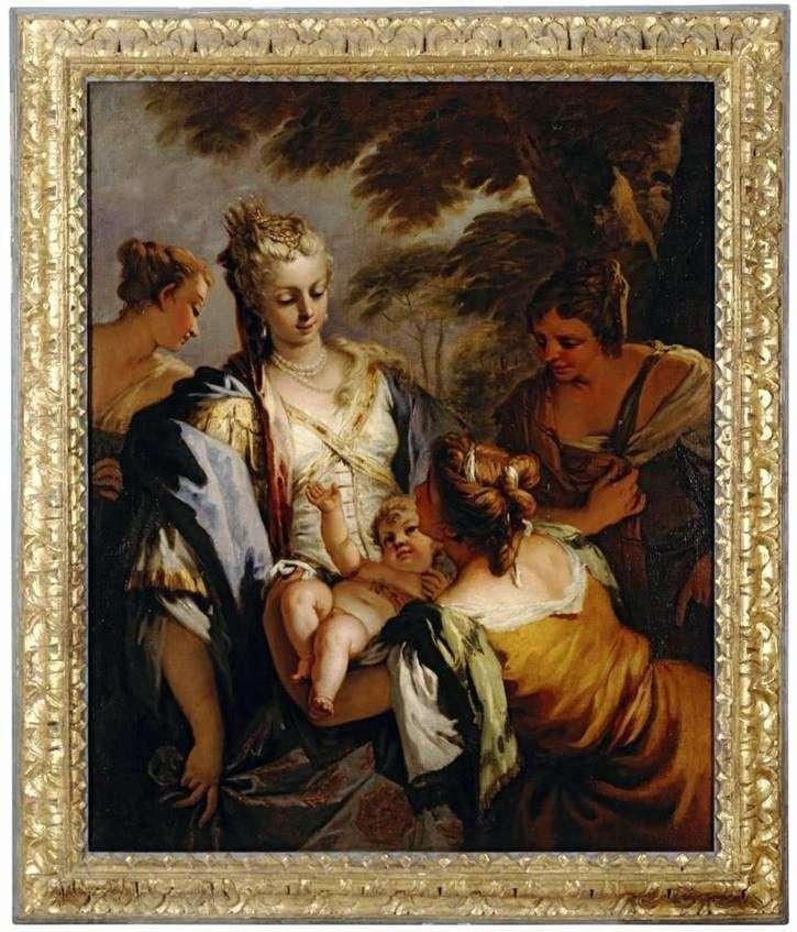 Przekazanie dziecka Mojżeszowi   Sebastiano Ricci