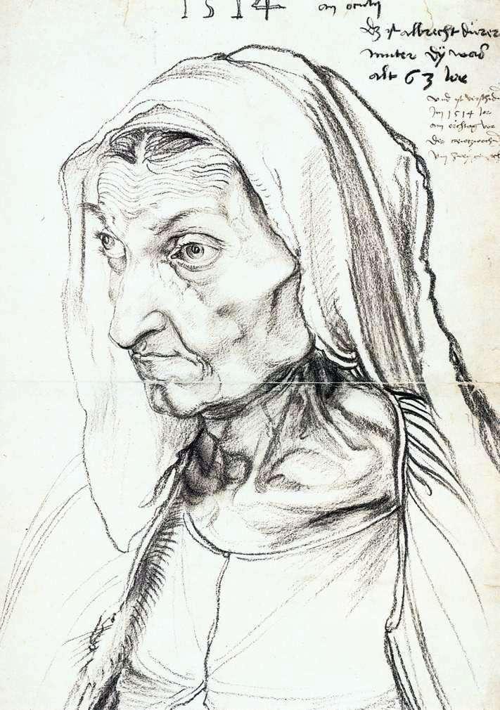 Portret matki   Albrecht Durer