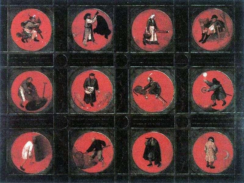 Dwanaście przysłów   Peter Bruegel