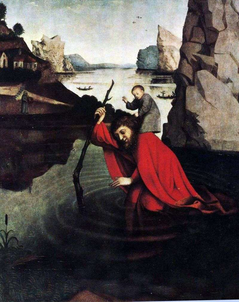 St. Christopher   Konrad Vits