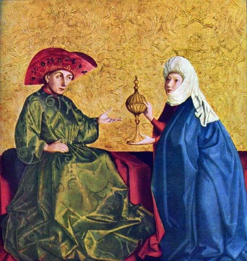 Król Salomon i królowa Saby   Konrad Vits