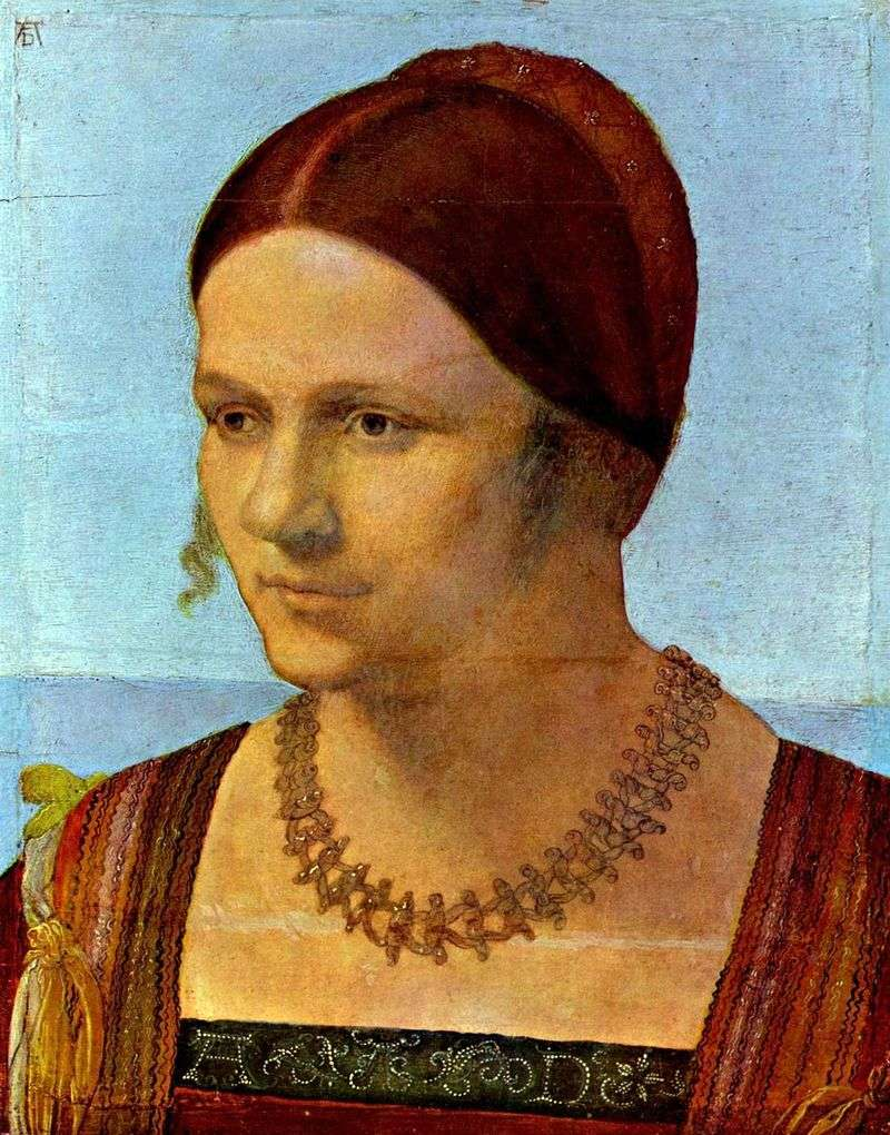 Portret młodej kobiety   Albrecht Durer