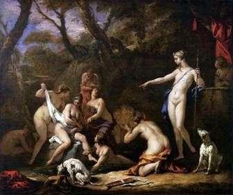 Diana i Callisto   Sebastiano Ricci