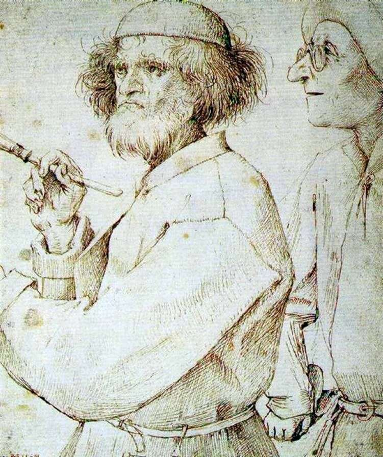 Malarz i kupujący   Peter Bruegel