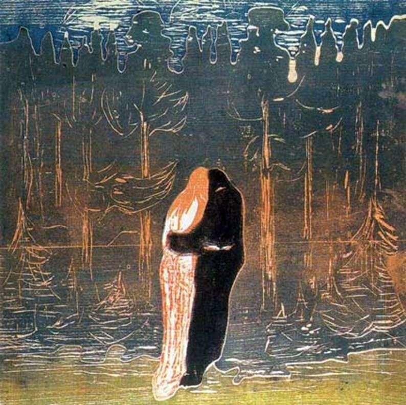 Miłośnicy   Edvard Munch
