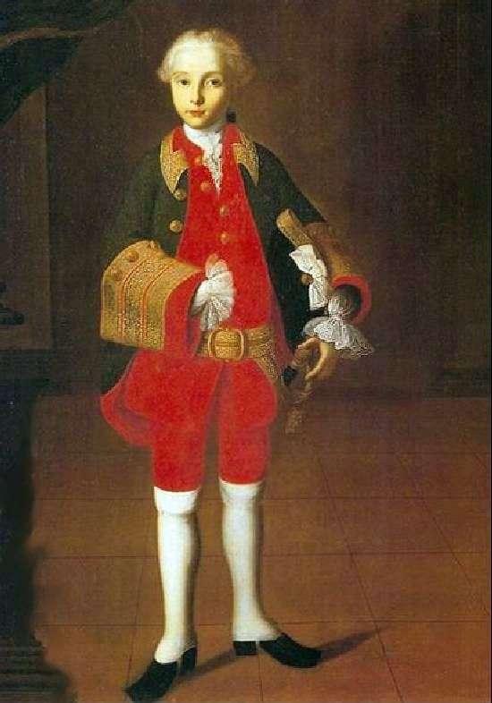 Portret Wilhelma Georga Fermora   Iwana Wiszniakowa
