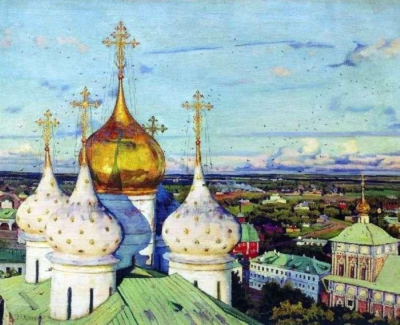 Kopuły i jaskółki   Konstantin Yuon