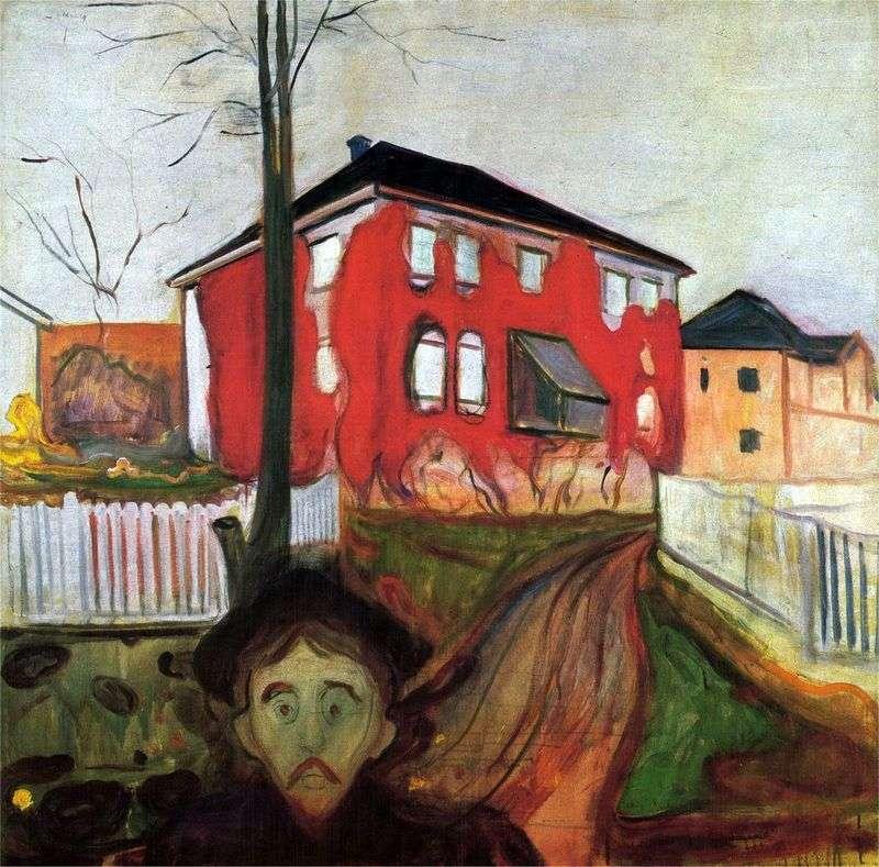 Dzikie czerwone winogrona   Edvard Munch