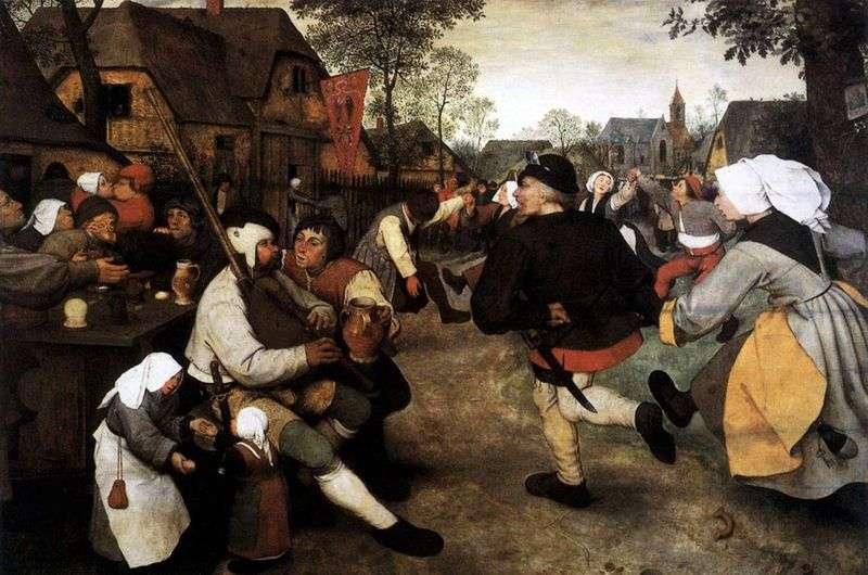 Taniec chłopski   Peter Bruegel