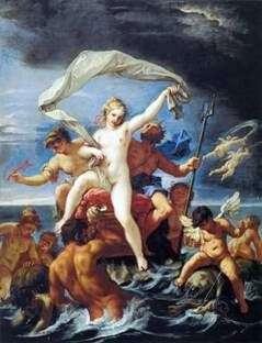 Neptuna i Amphitrite   Sebastiano Ricci