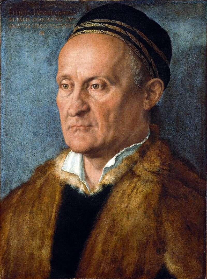 Portret Jacoba Muffela   Albrechta Dürera