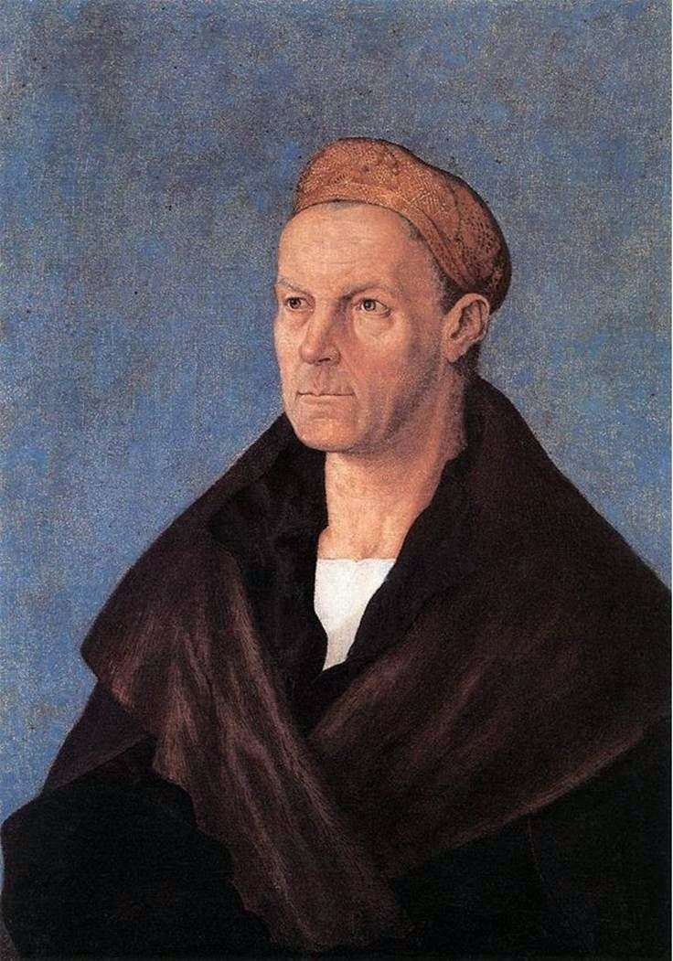 Portret Jacoba Fuggera Rich Mana   Albrechta Dürera