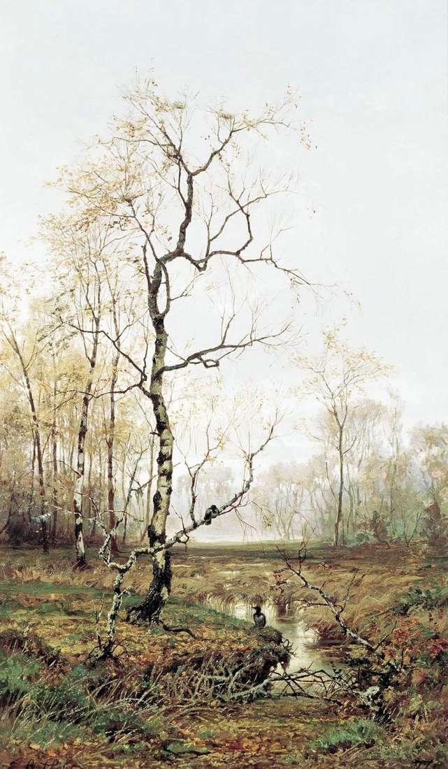 W lesie. Wiosną   Efim Wołkow