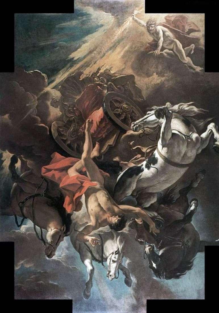 Upadek Faetona   Sebastiano Ricci