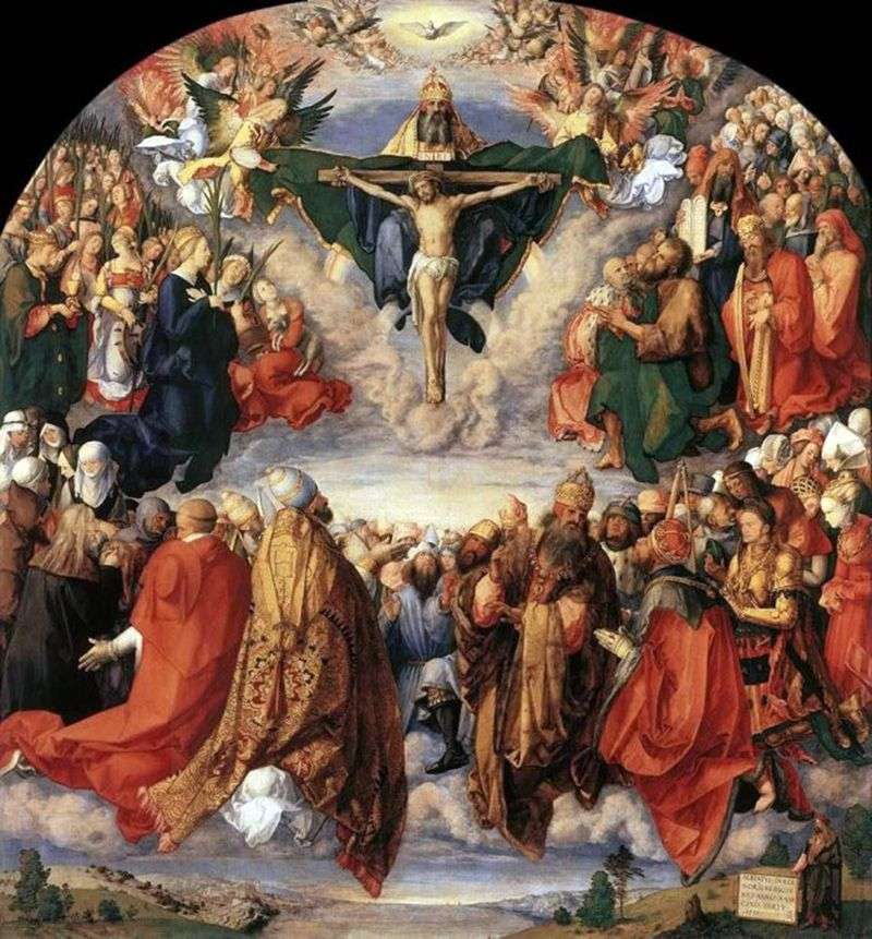 Dzień Wszystkich Świętych   Albrecht Durer