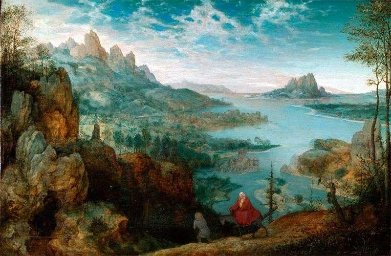 W drodze do Egiptu   Peter Bruegel