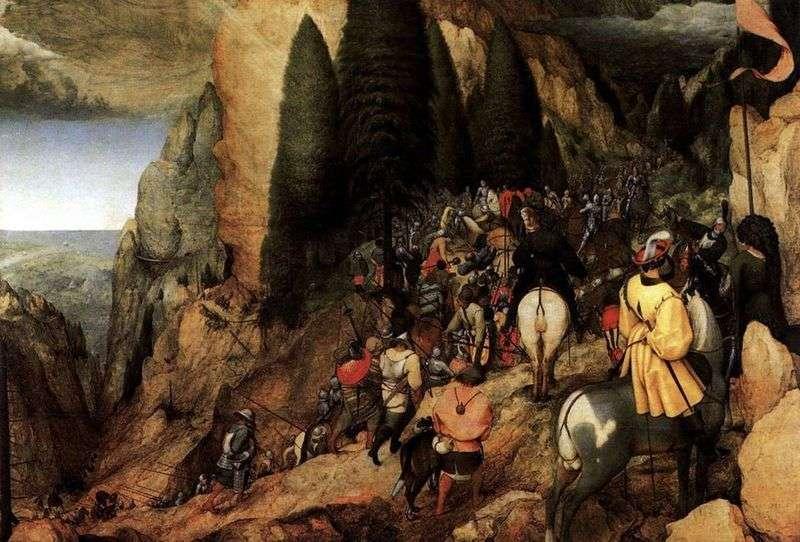 Odwołanie Saula   Peter Bruegel