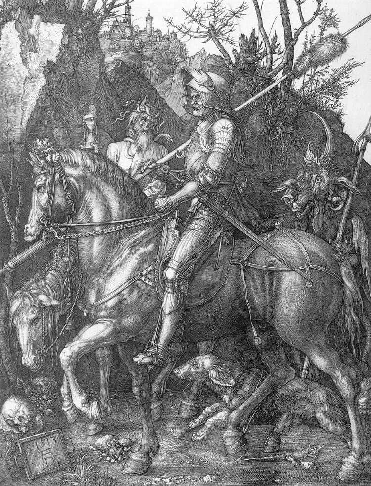 Rycerz, Śmierć i Diabeł   Albrecht Durer