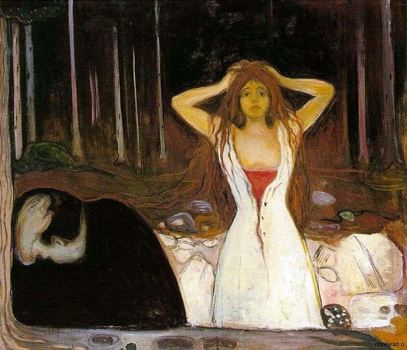Ash   Edvard Munch