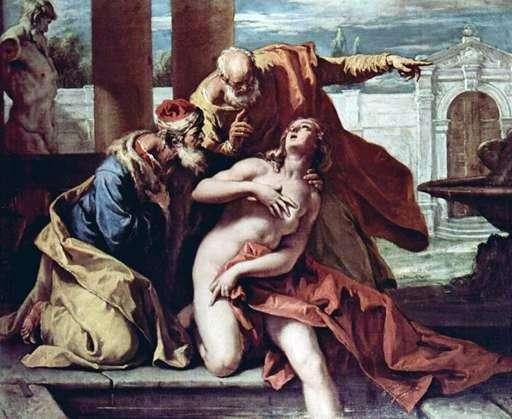 Zuzanna i starsi   Sebastiano Ricci