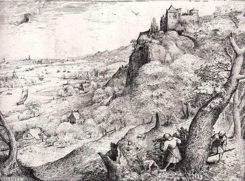 Polowanie na zająca   Peter Bruegel