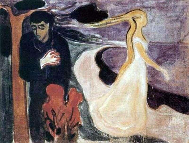 Rozstanie   Edvard Munch