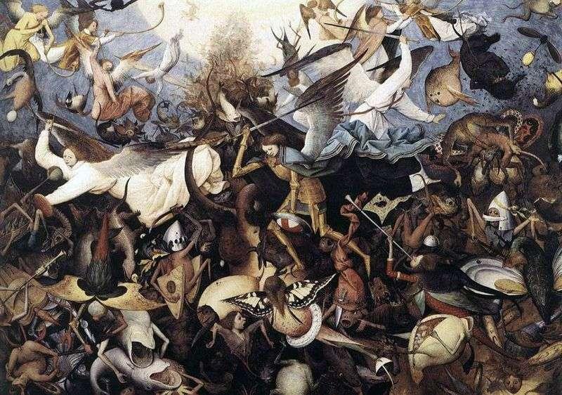 Upadek aniołów rebelianckich   Peter Bruegel