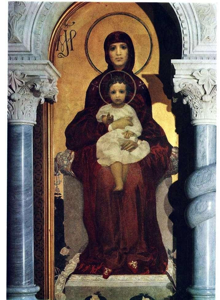 Dziewica i dziecko   Michaił Vrubel